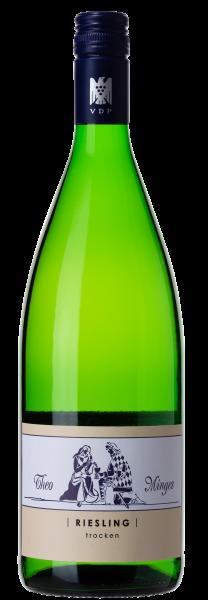 Theo Minges Riesling QbA Literflasche trocken Bio
