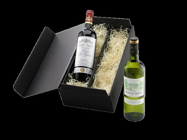 """Geschenk """"Klassischer Bordeaux"""""""
