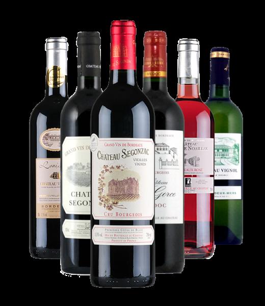 Probierpaket Bordeaux Weine