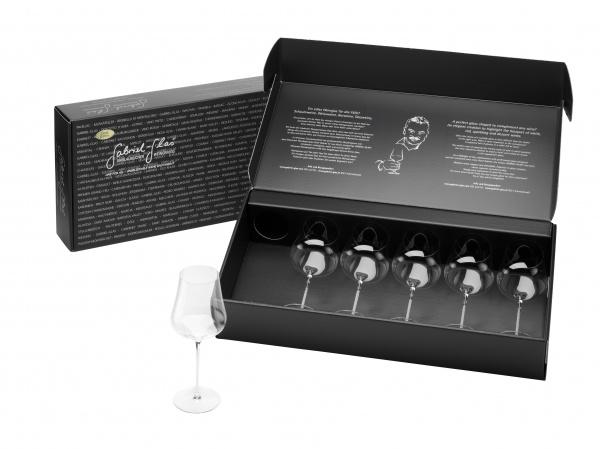 Gabriel-Glas Gold Edition (mundgeblasen) im 6er Geschenkkarton