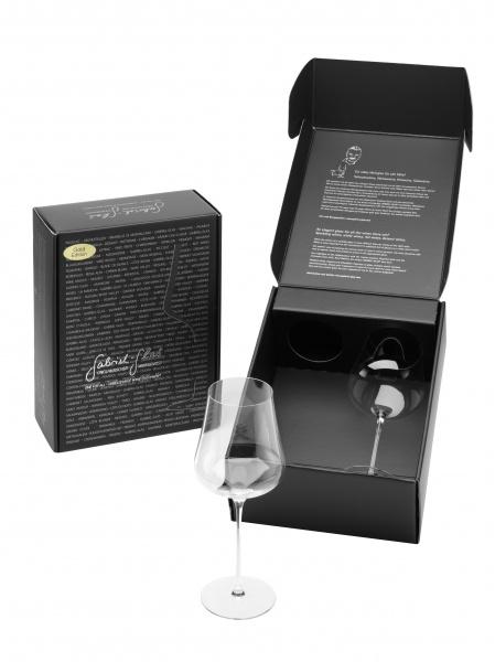 Gabriel-Glas Gold Edition (mundgeblasen) im 2er Geschenkkarton