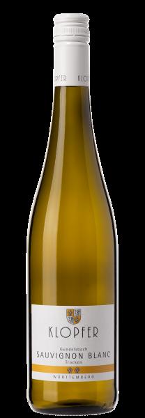 Klopfer Sauvignon Blanc Gundelsbach trocken Bio