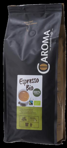 Caroma Espresso Bio Fairtrade 100% Arabica 1000g