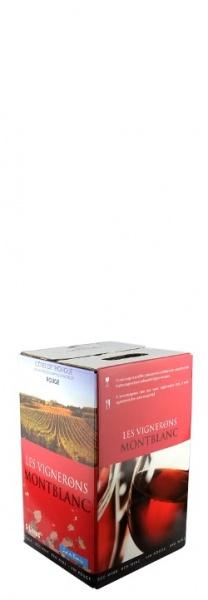 Vignerons de Montblanc Côtes de Thongue rouge BiB 5l