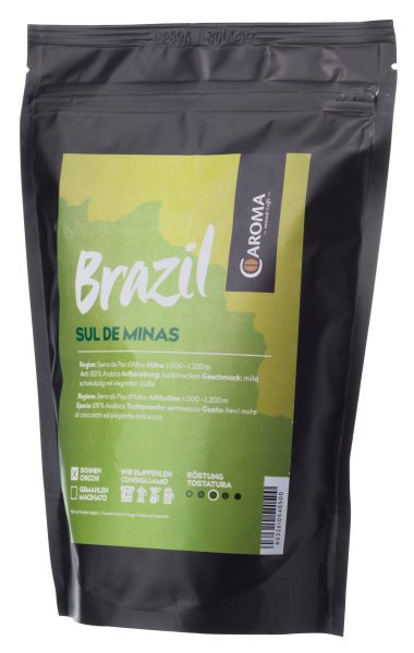 """Caroma Caffé """"Brazil Sul de Minas 100% Arabica"""" 250g"""