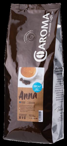 """Caroma Caffé """"ANNA"""" entkoffeiniert 100% Arabica 1000g"""