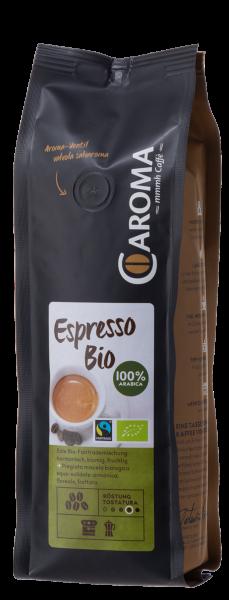 Caroma Espresso Bio Fair Trade 100% Arabica 250g