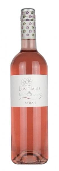 Syrah Rosé Les Fleurs de Montblanc