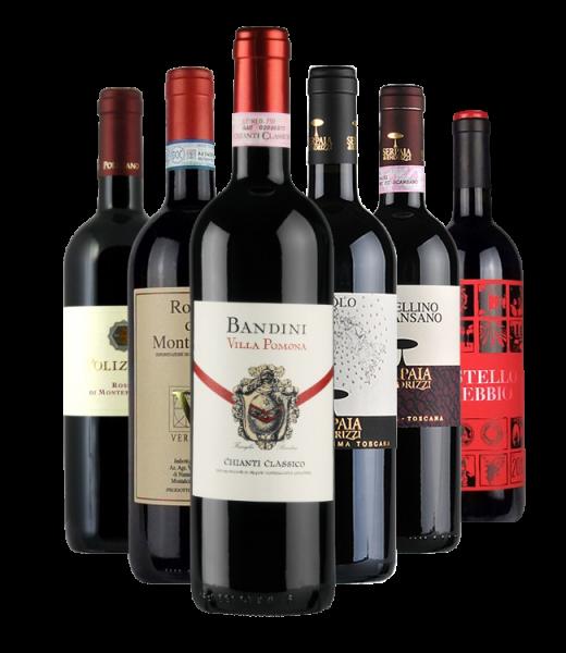 Probierpaket Toskana Rotweine
