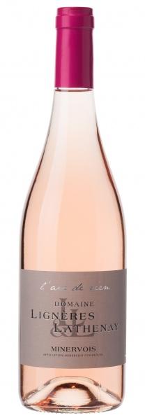 """Domaine Lignères Lathenay """"l'air de rien"""" Minervois rosé"""