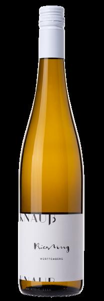 Knauß Riesling Gutswein trocken Bio
